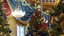 Royal Pavilion, Christmas, decorations, Brighton,  2016