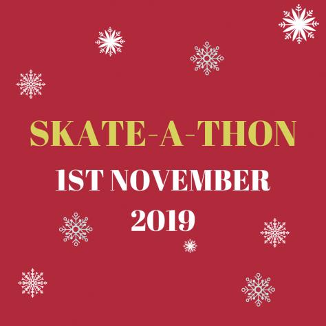 Skate-a-thon snowflakes
